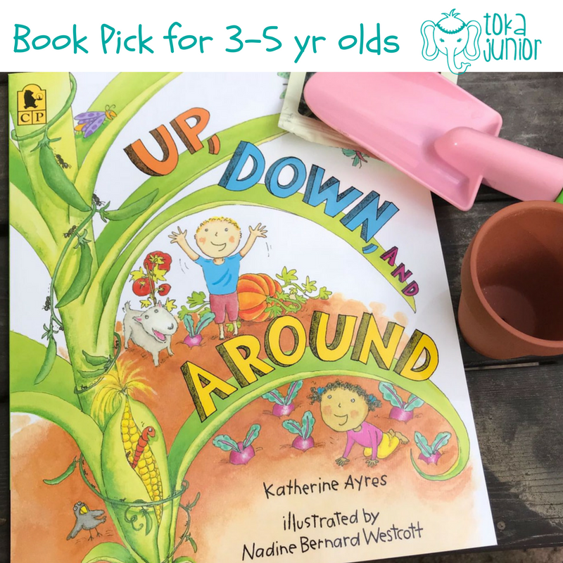 Spring Gardening books for preschoolers