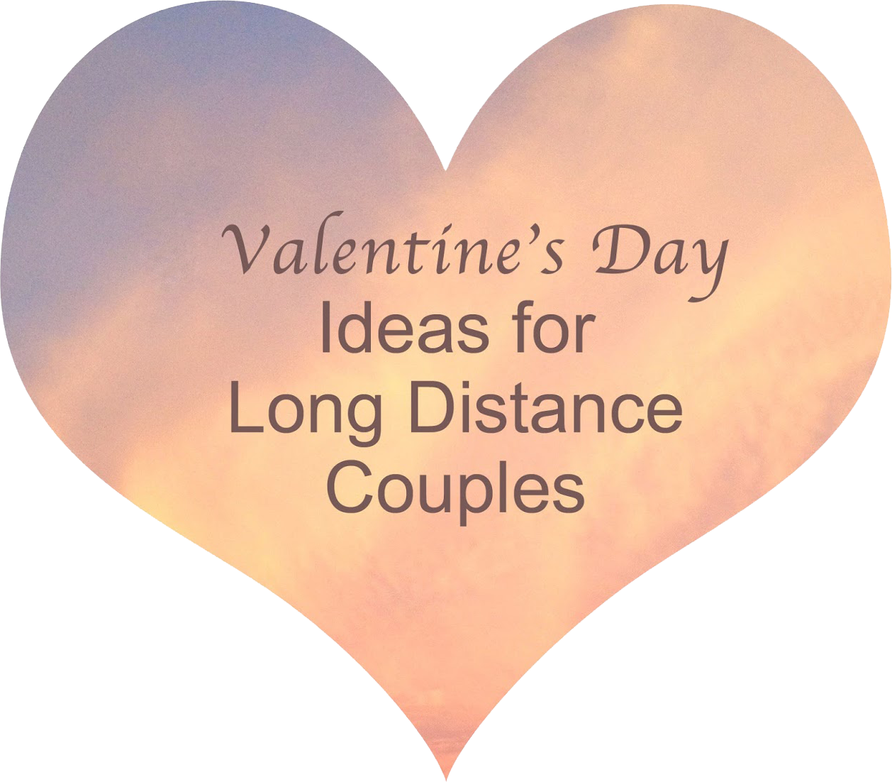 Interesting valentine 39 s day ideas for long distance for Valentine day ideas for couples
