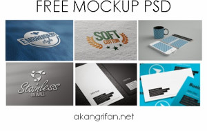 Free Download Mockup PSD ~ AkangRifan.Net