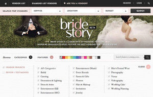 BrideStory wants to help couples plan their dream wedding