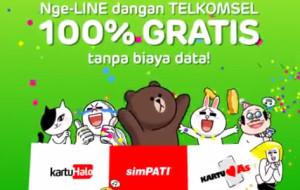 Pelanggan Telkomsel bisa pakai fitur dan game Line gratis