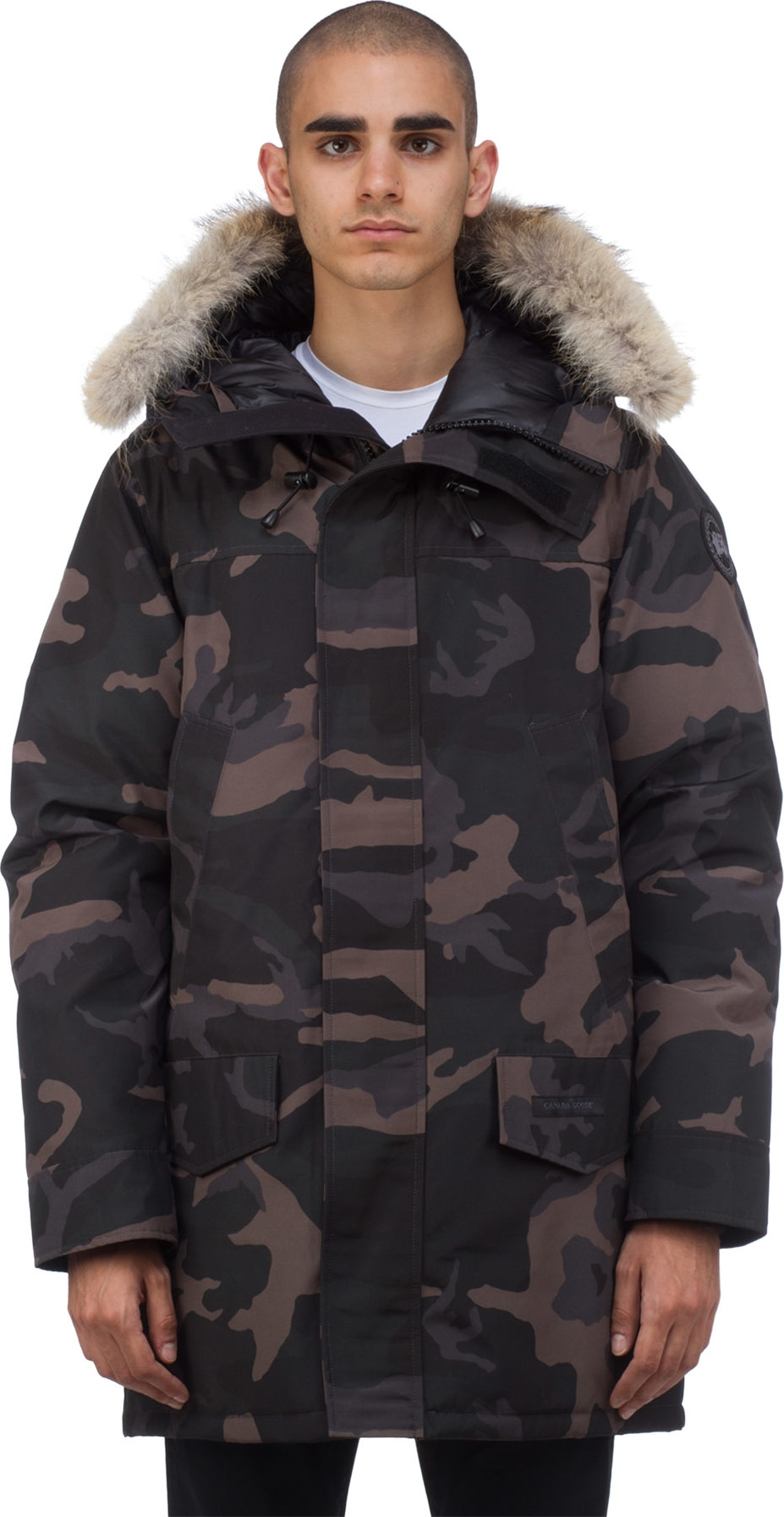 canada goose Snow Pants Grey Camo