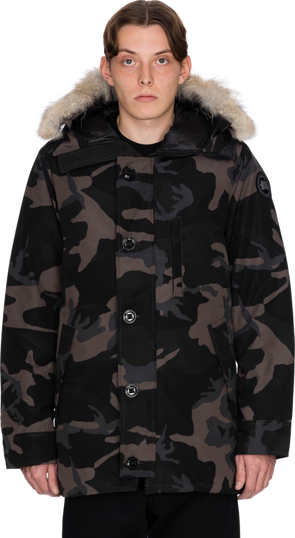 canada goose camouflage noir