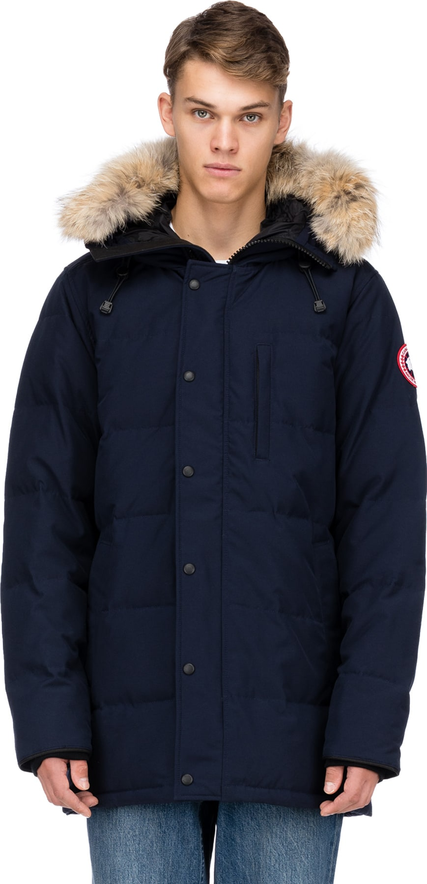 canada goose lodge jacket admiral blue