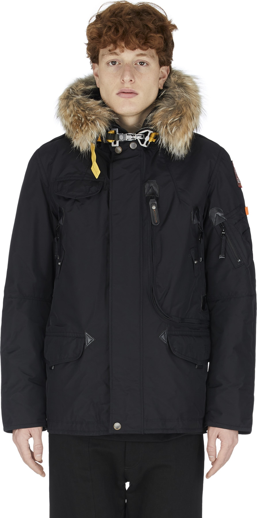 : Right Hand Parka - Black | Influence U