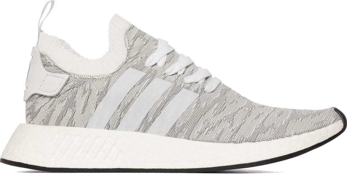 582da18689869 adidas Originals  NMD R2 Primeknit - Grey Footwear White Core ...
