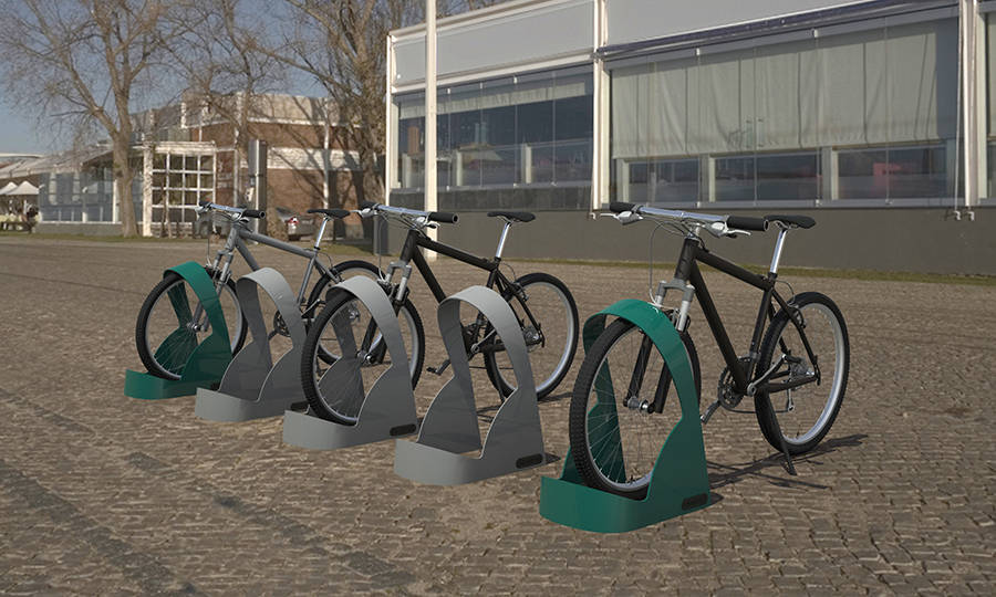 Bicipuertos m dulos aparcabicicletas y anclajes para - Anclaje para bicicletas ...