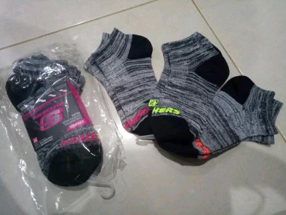 Kaos kaki Skechers Original 100% buy 1 get 3