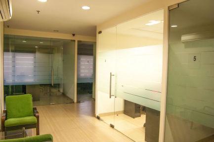 InstaOffice Nirvana courtyard