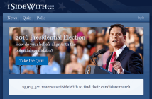I-Side-With Interactive Political Website
