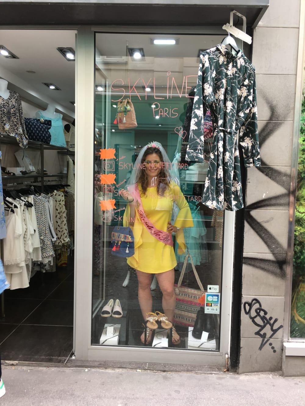 Mouffetard Mannequin vitrine