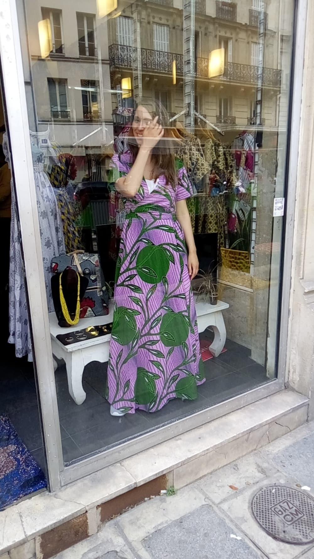 Châtelet Mannequin vitrine