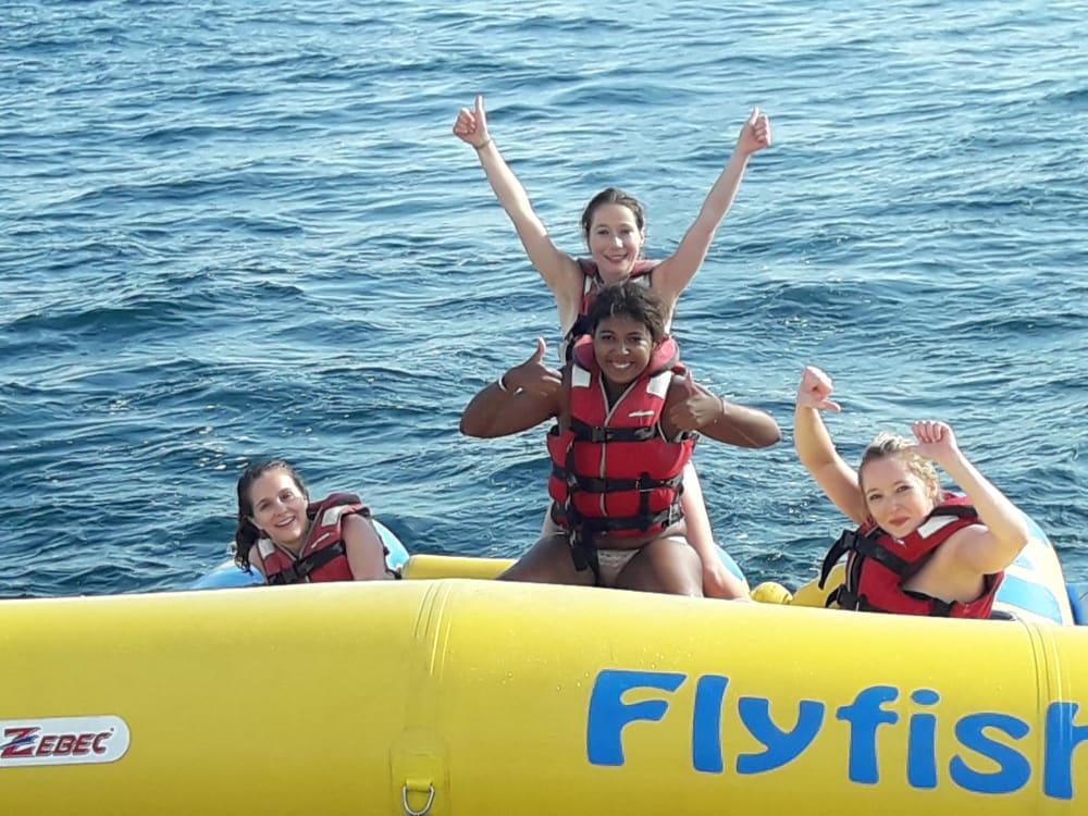 Porto Olimpico Banana boat