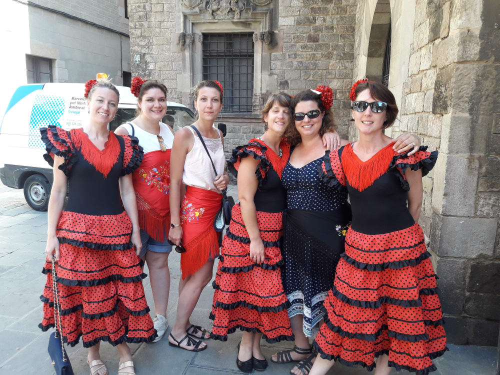 Gotic Barcelone Danse Flamenco