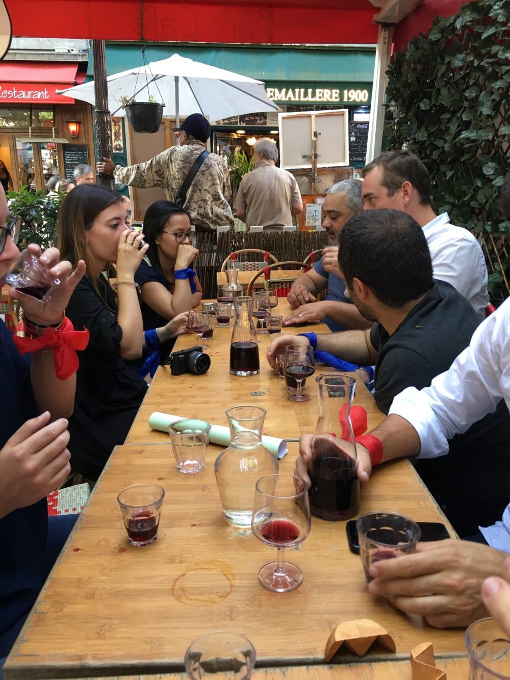 Montmartre Dégustation de vin