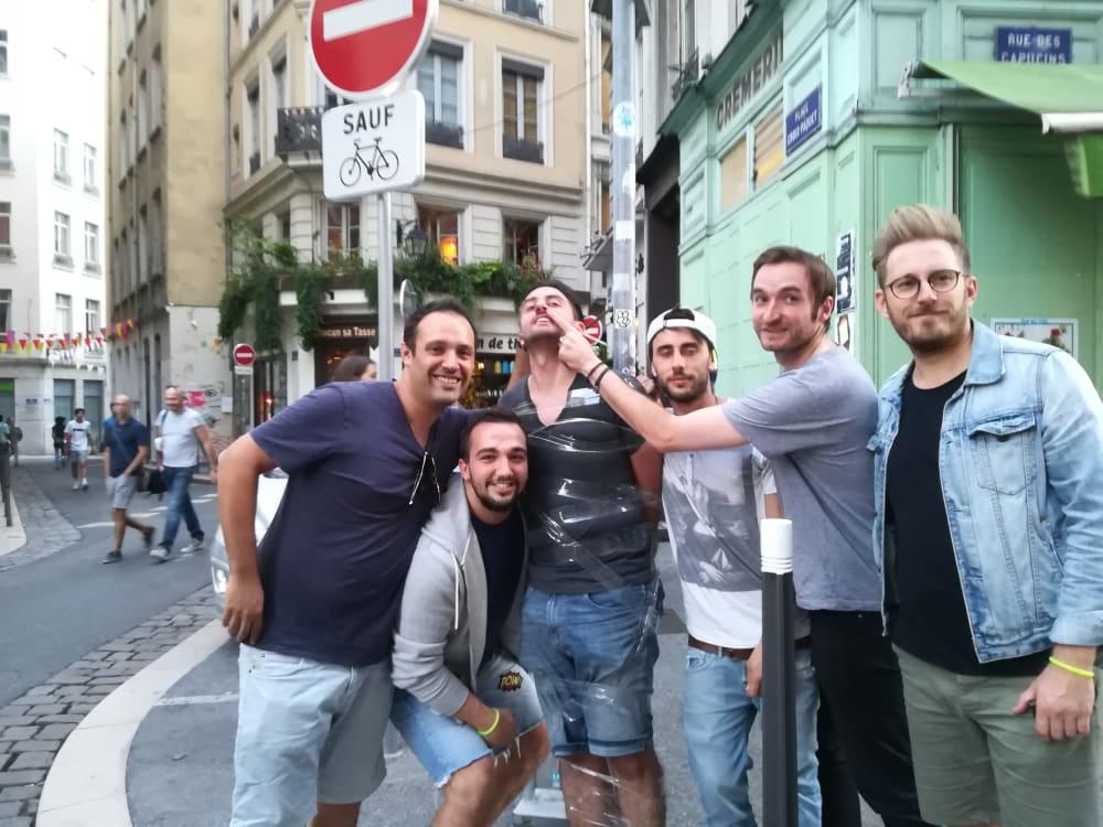 Parcours Festif Lyon Descotchage