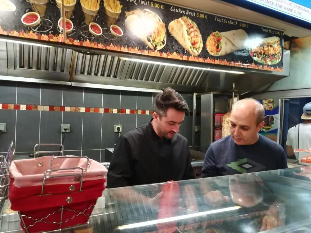 Parcours Festif Lyon Faire son kebab