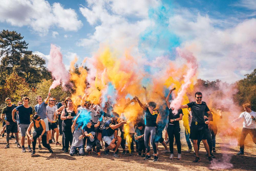 Sportif Bois de Boulogne Color Battle