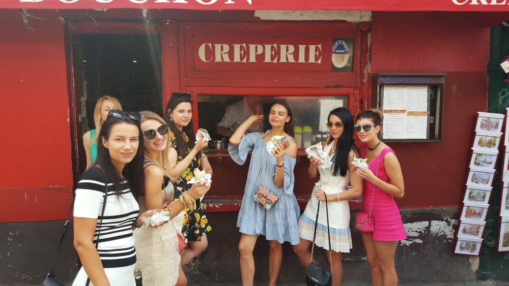 Montmartre Faire sa crêpe