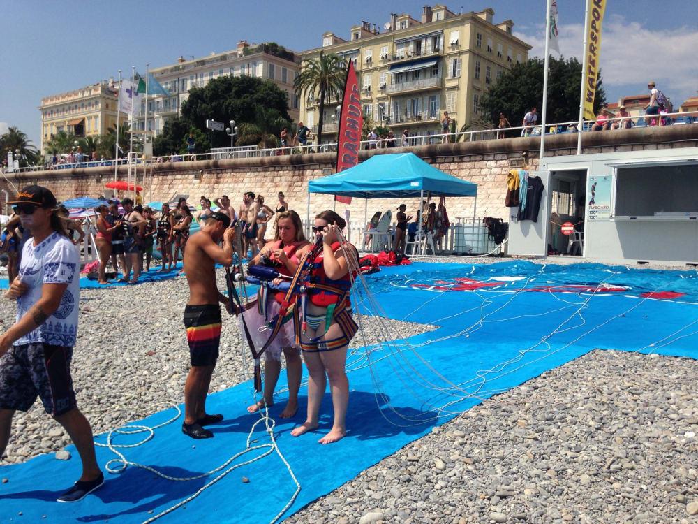 Vieux Nice Parachute ascensionnel