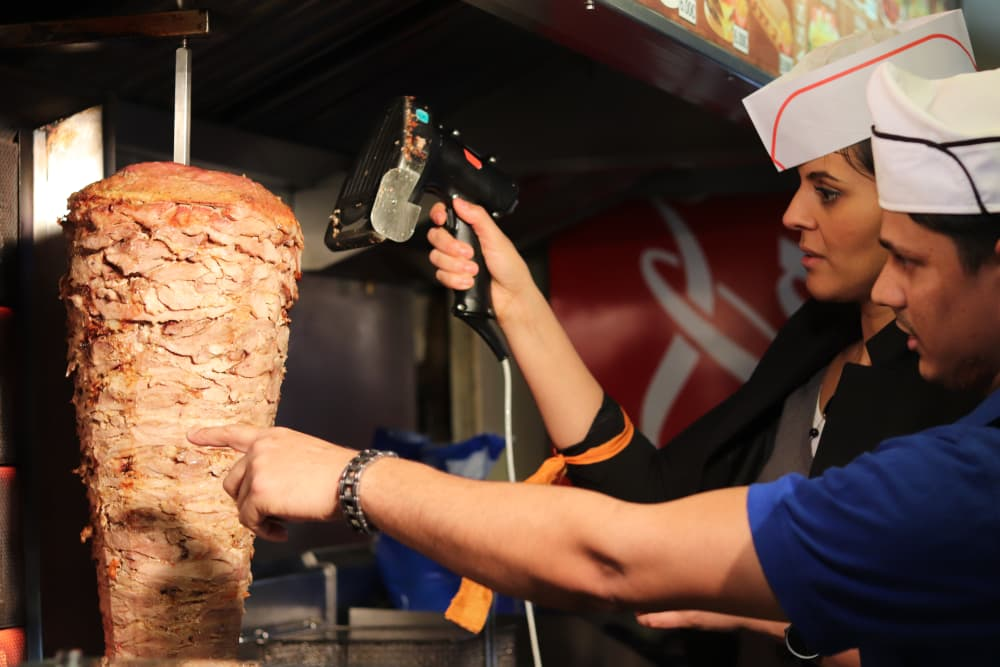 Mouffetard Faire son kebab