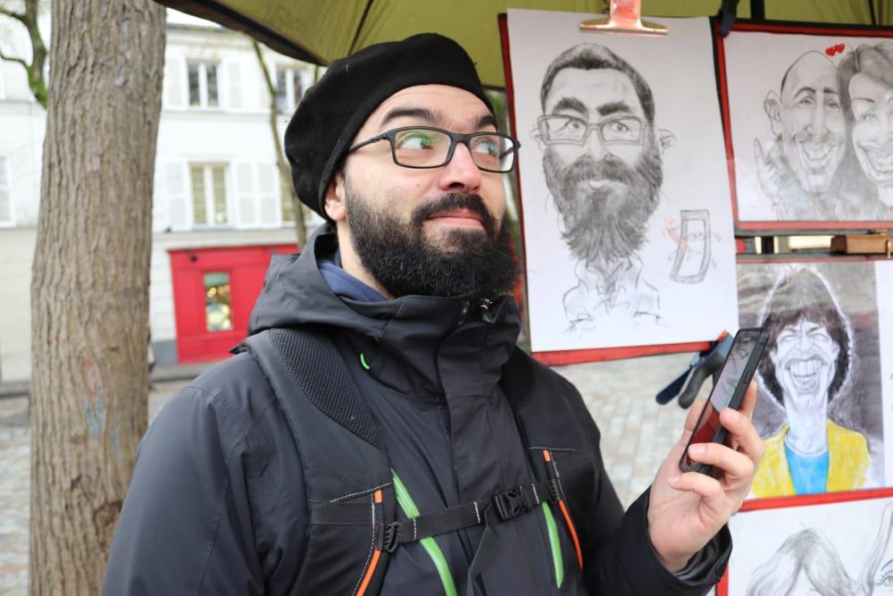 Montmartre La caricature cachée