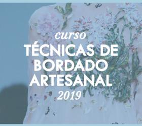 TÉCNICAS DE BORDADO ARTESANAL