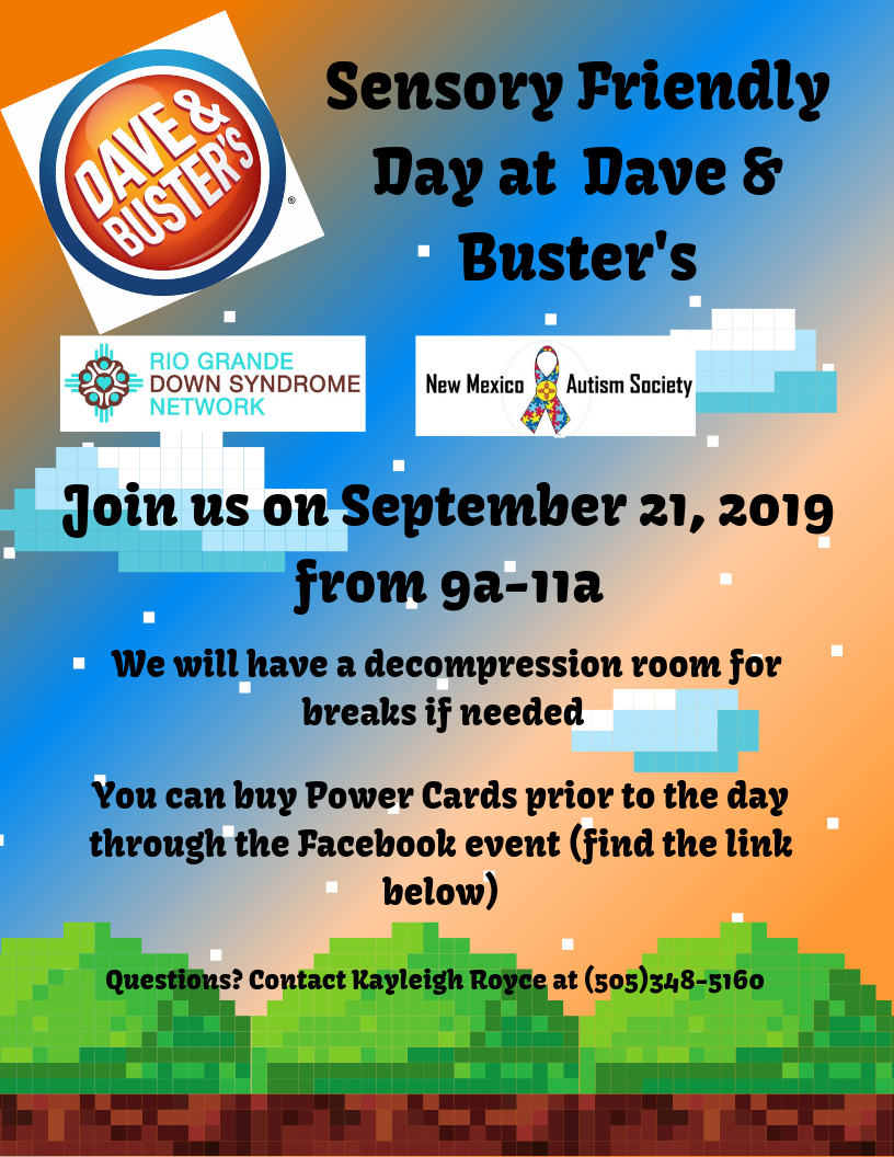 Sensory Friendly Day at Dave and Busters Image