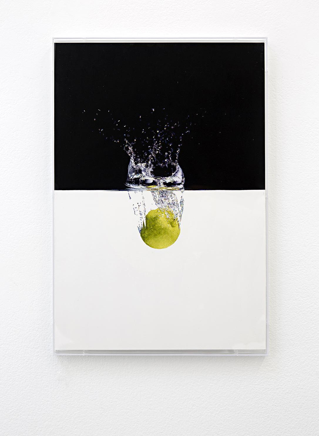Untitled, watercolor on paper - Jackson Slattery