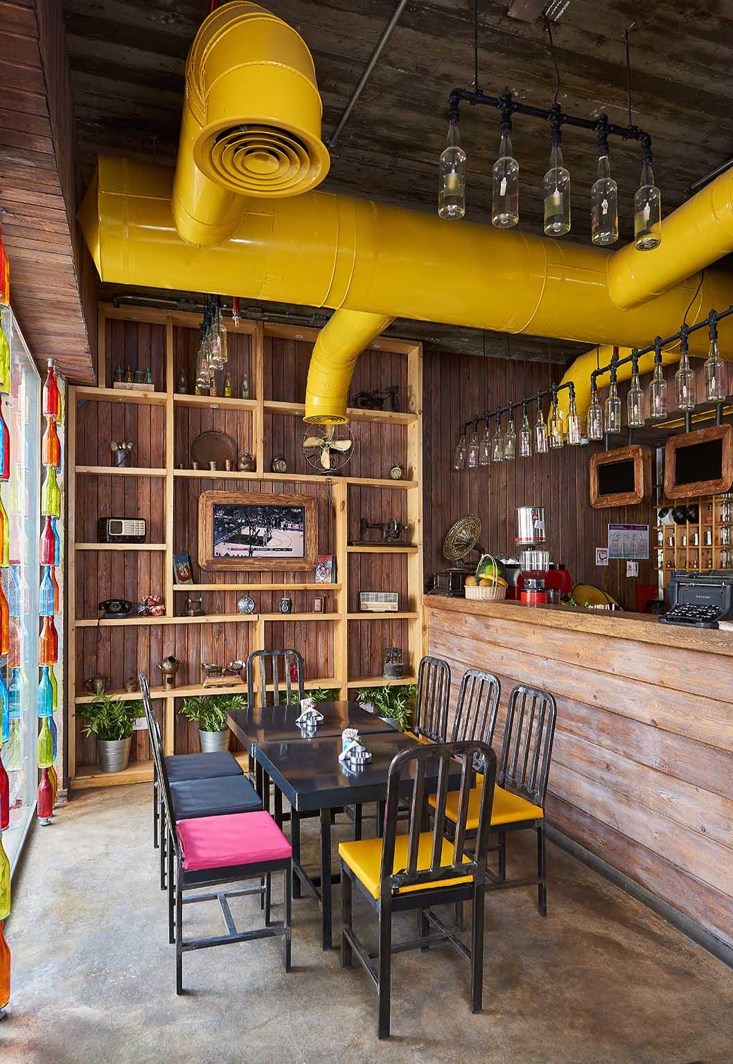 Tabali restaurant interiors shot