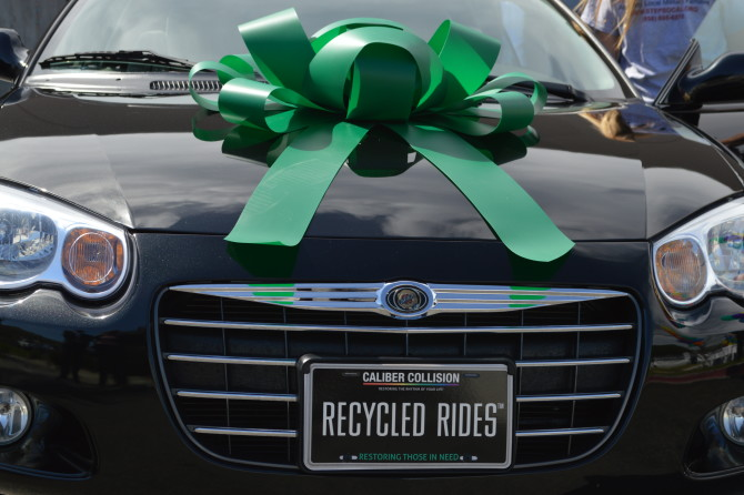 Recycled Rides. Fixing Cars and Fixing Lives. - Caliber Collision Blog