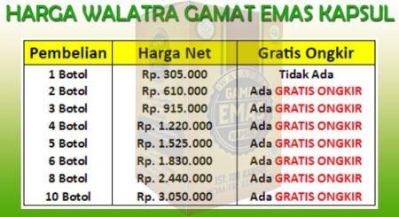 Agen Walatra Gamat Emas Kapsul di Lombok Timur