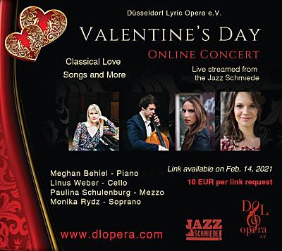 Düsseldorf Lyric Opera: Valentine's Day Concert (Online)