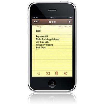 Application « Notes » sur iPhone : pourquoi Apple a tout faux