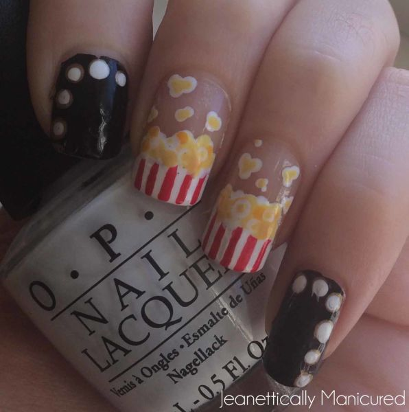 movie marquis lights nails