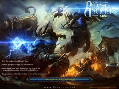 Download Map Dota 6.83c.w3x