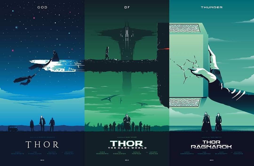 Thor (Trilogía) (2011-2017) 1080p x265 10bit Dual (Lat/Ing)