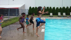Summer kids pool jump 14715336932237