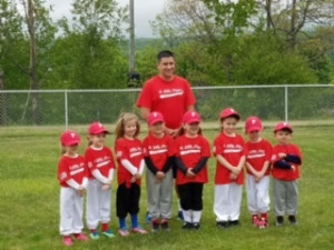 T ball red team 14968541328253