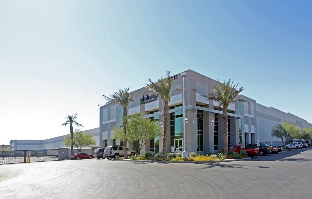 Buckeye Logistics Center - Bldg 2 - Industrial - Lease