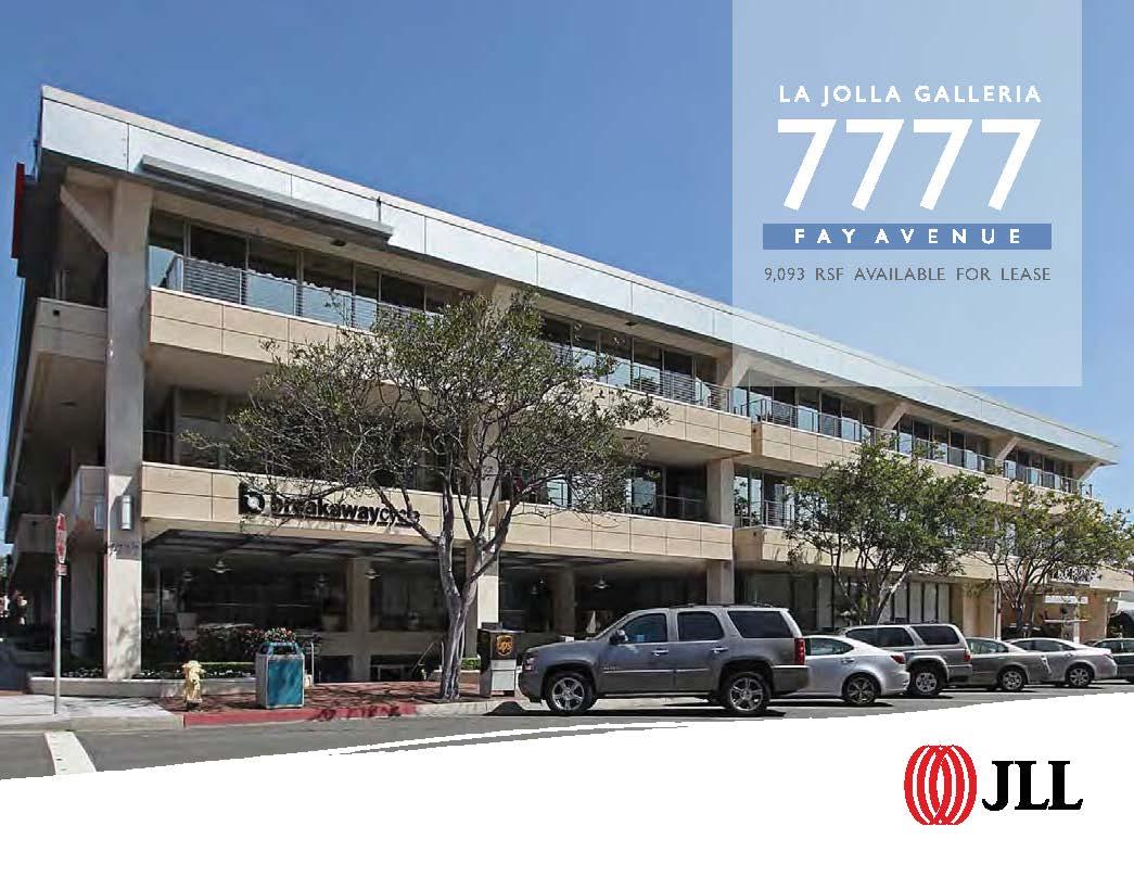 7777 Fay Avenue - Office - Lease