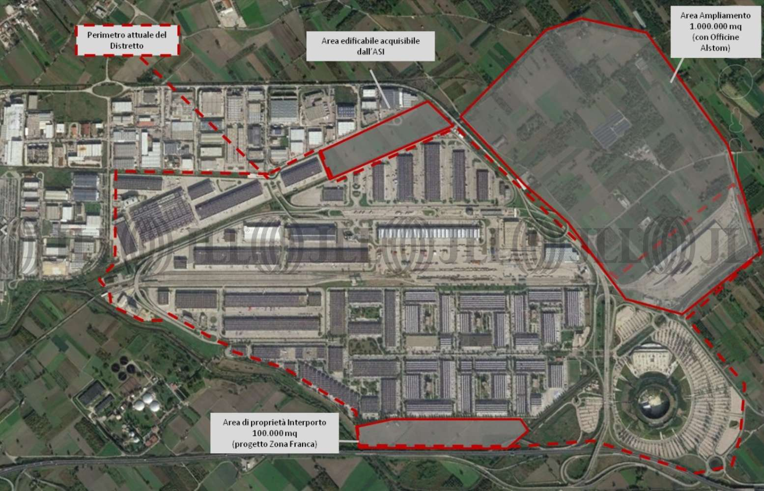 Magazzini industriali e logistici Nola, 80035 - Interporto Campano