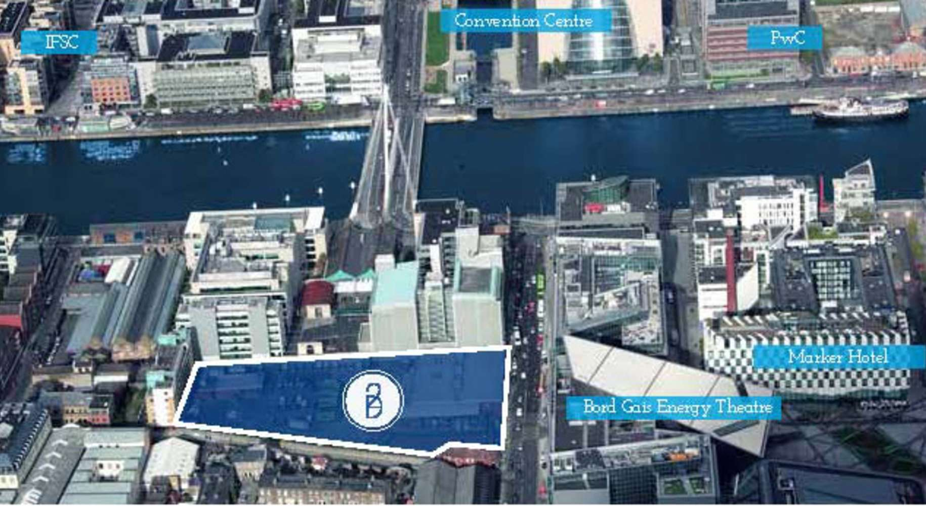 Development land Dublin 2,  - Development Opportunity - Cardiff Lane (An Post Premises)