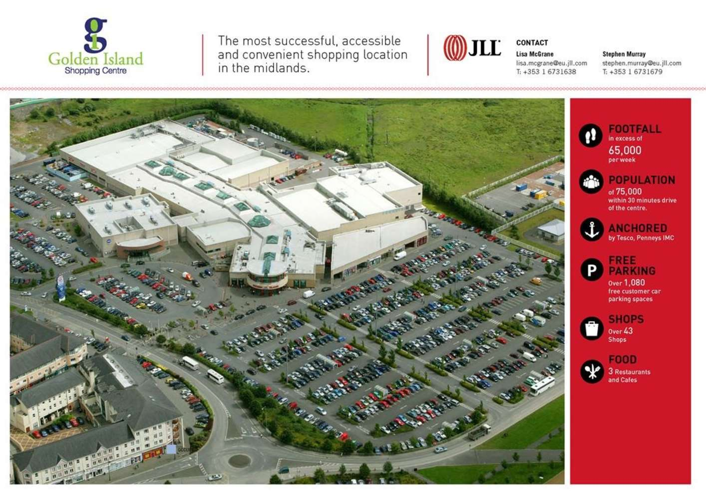 Retail Co westmeath, N37 YK09 - Unit 36 Golden Island Shopping Centre