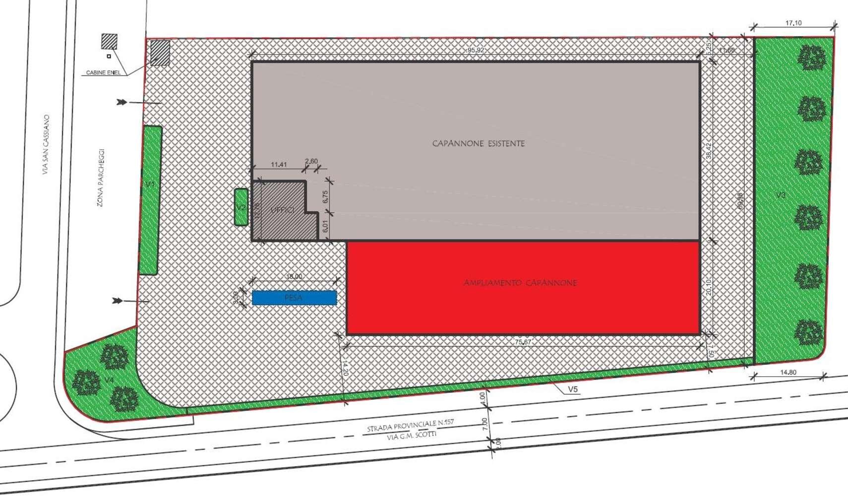 Magazzini industriali e logistici Mapello, 24030 - Mapello