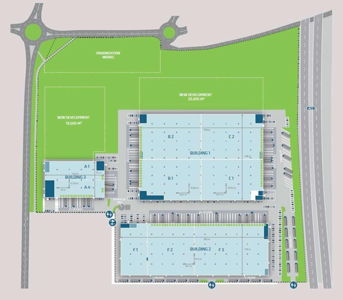 Magazzini industriali e logistici Rolo, 42047 - Rolo Logistics Park
