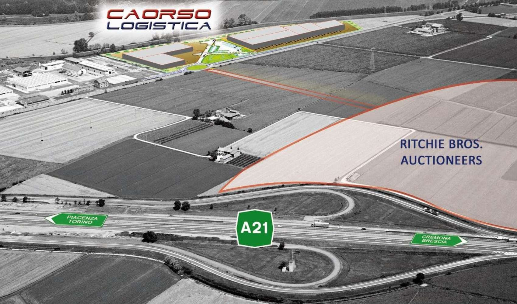 Magazzini industriali e logistici Caorso, 29012 - Caorso Logistica