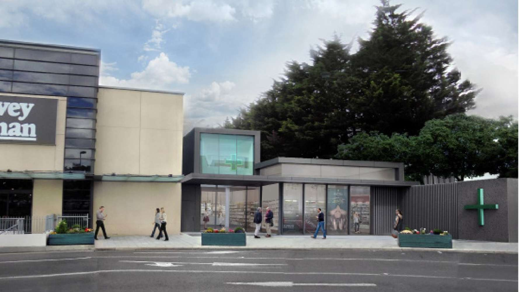 Retail Dublin,  - Proposed New Unit, Nutgrove Retail Park