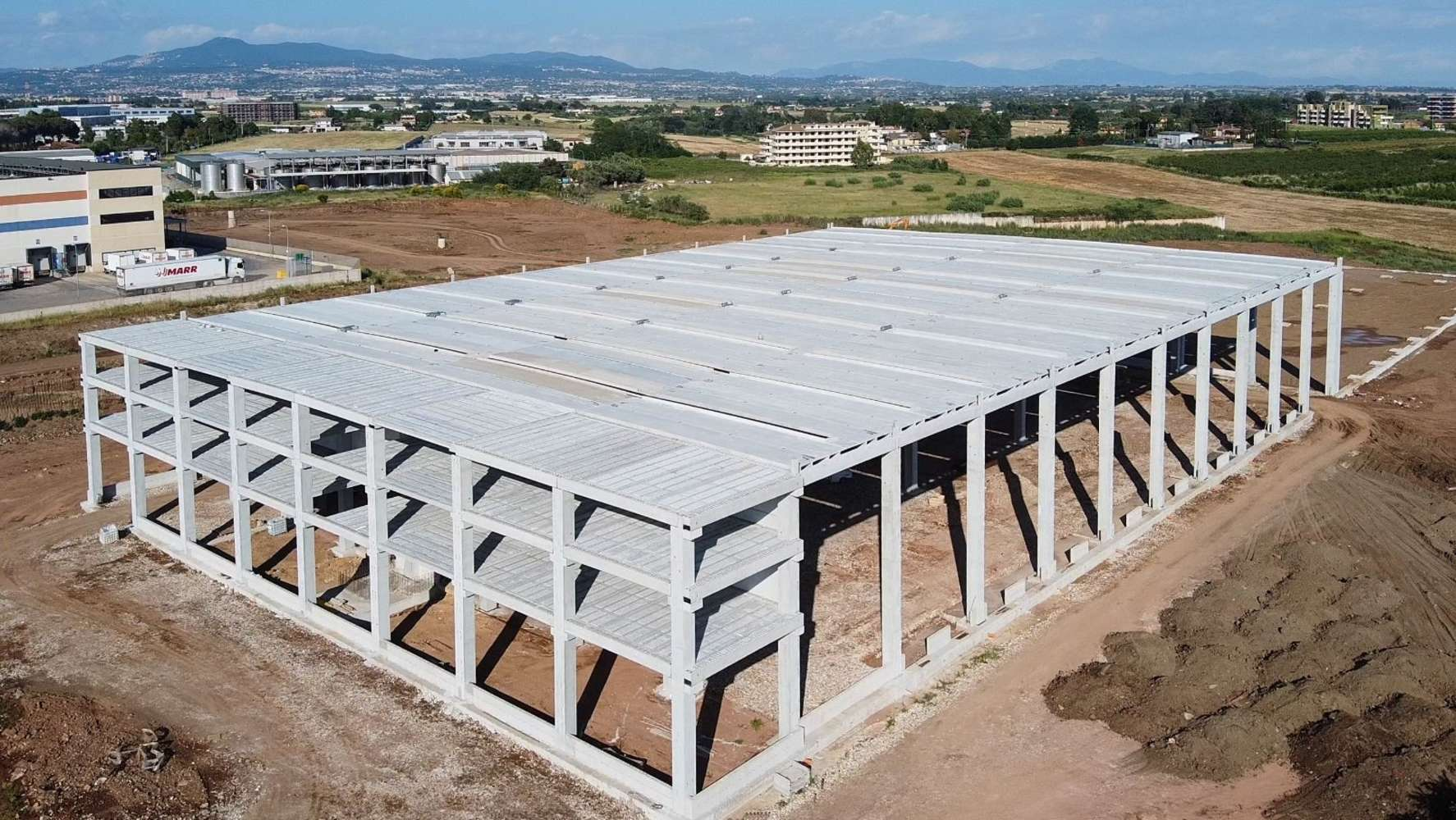 Magazzini industriali e logistici Pomezia, 00040 - Pomezia Logistics Center