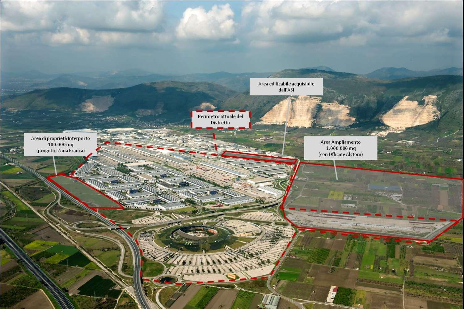 Magazzini industriali e logistici Nola, 80035 - Interporto Campano - 8846958